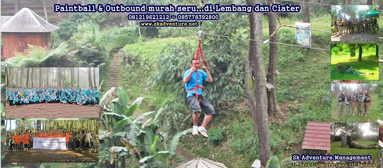 Paintball|Outbound|Meeting|Gather|Rafting-arung jeram murah di Lembang Bandung dan Ciater Subang