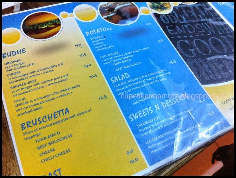 Kuliner jogja k e r s kitchen and juice bar rina for Z kitchen jogja menu