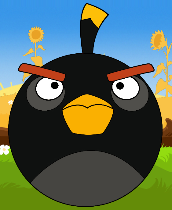 angry bird black bomb. Black Bedroom Furniture Sets. Home Design Ideas