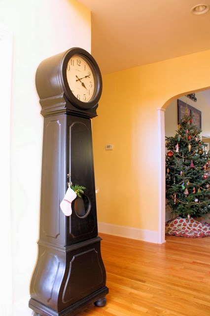 http://thecomfortsofhome.blogspot.com/2014/01/country-french-swedish-mora-clock-reveal.html