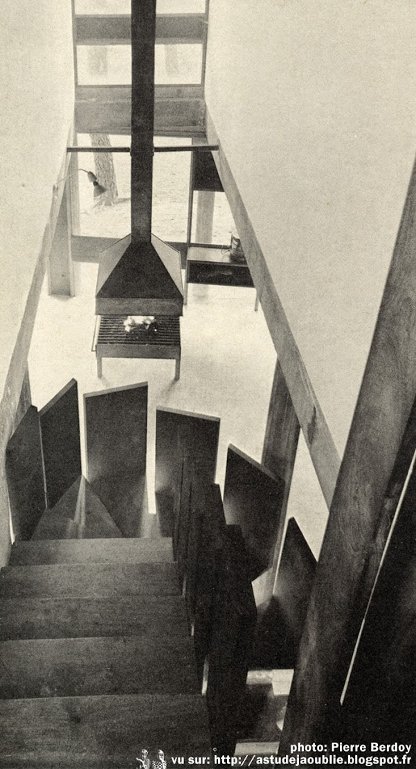 Saint-Brevin-les-Pins / Saint-Brévin-l'Océan - Villa Chupin  Architecte: André Wogenscky  Projet / Construction: 1958 - 1960