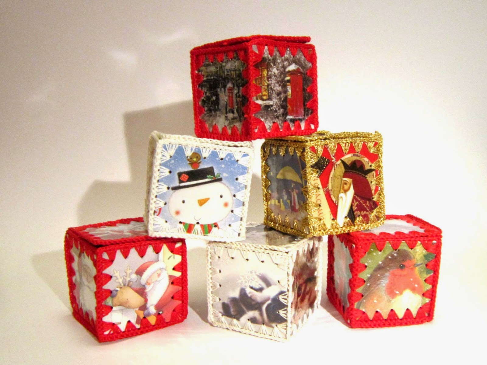 Always Arty: Christmas Card Boxes