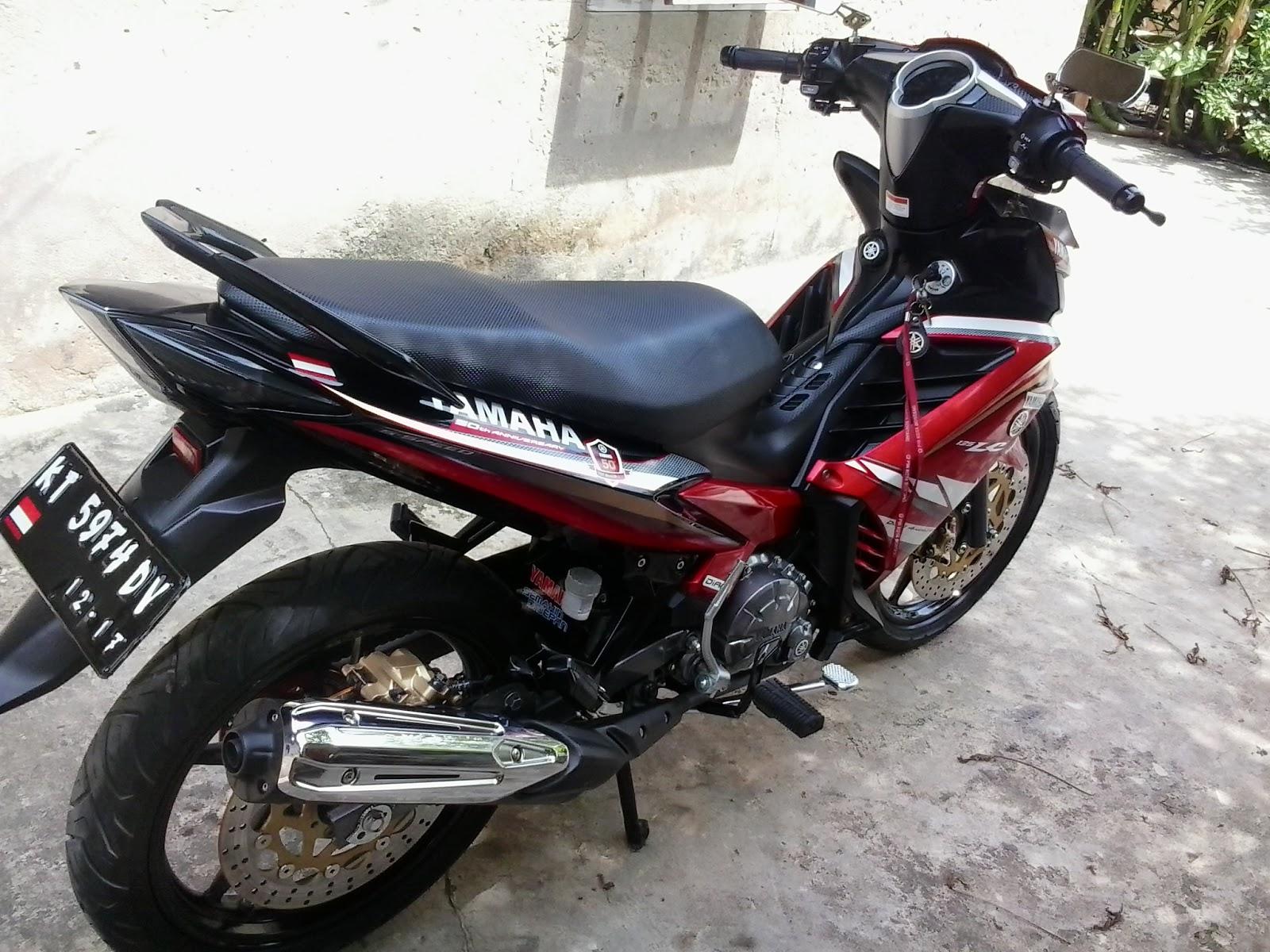 MODIFIKASI MOTOR NEW JUPITER MX KARYA ANAK BONTANG
