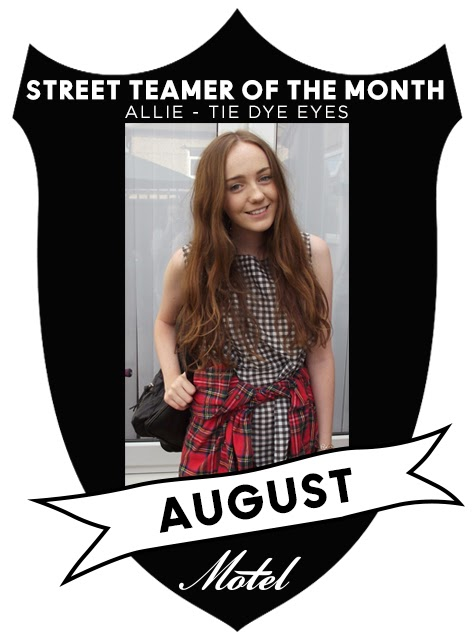 Street Teamer of the Month