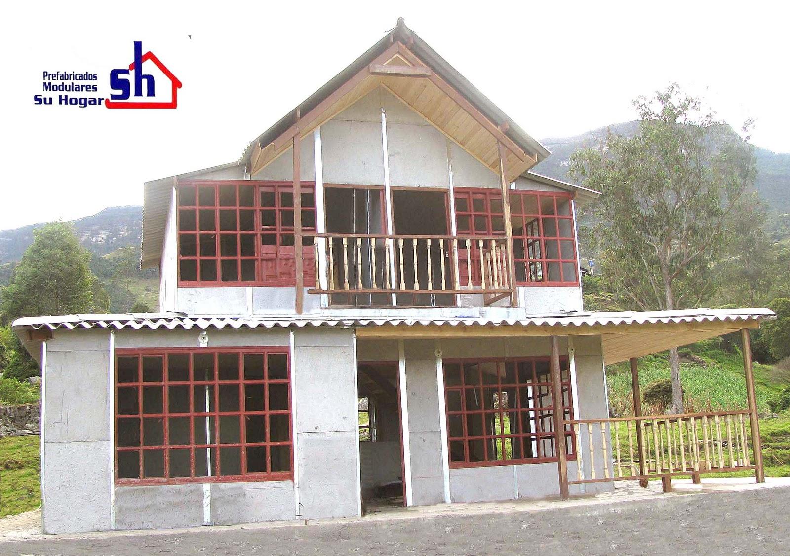 Casas prefabricados casas prefabricadas for Costruendo su una casa di ranch