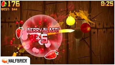 Fruit Ninja apple itunes app