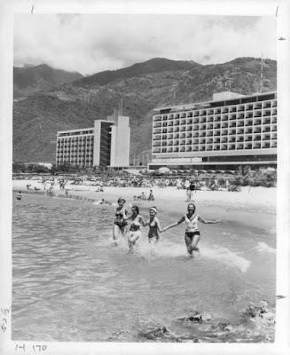 El Hotel Macuto Sheraton.... una obra arquitectónica impresionante