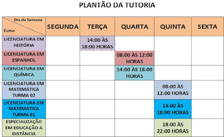 PLANTÃO TUTORIA