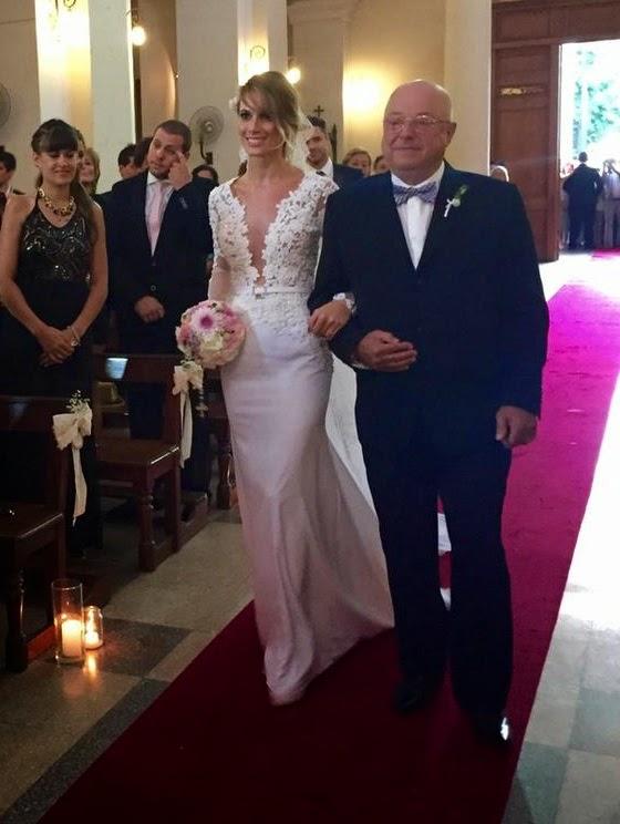 vestidos de novia de famosas argentinas – hermosos vestidos