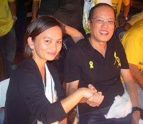 "The Philippine President ""Benigno Aquino"" with the publisher"