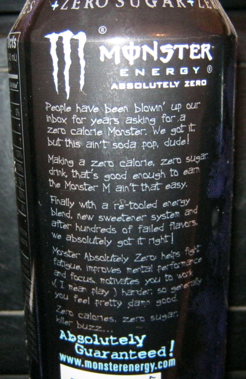 soda can collection monster vs monster