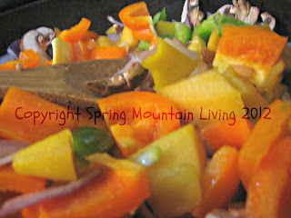 tomato pumpkin chili at spring mountain living