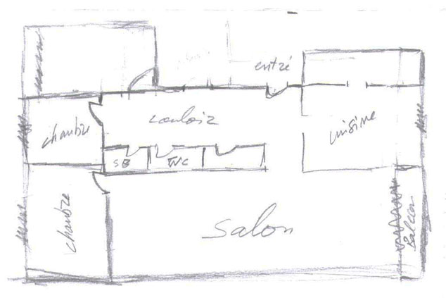 Dessiner son plan de maison for Dessiner un plan