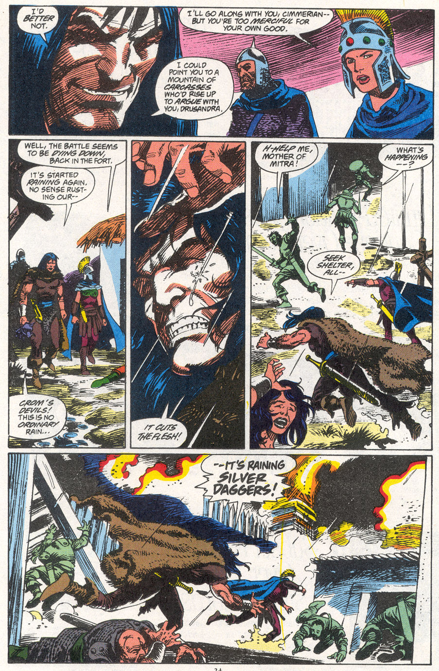 Conan the Barbarian (1970) Issue #266 #278 - English 17