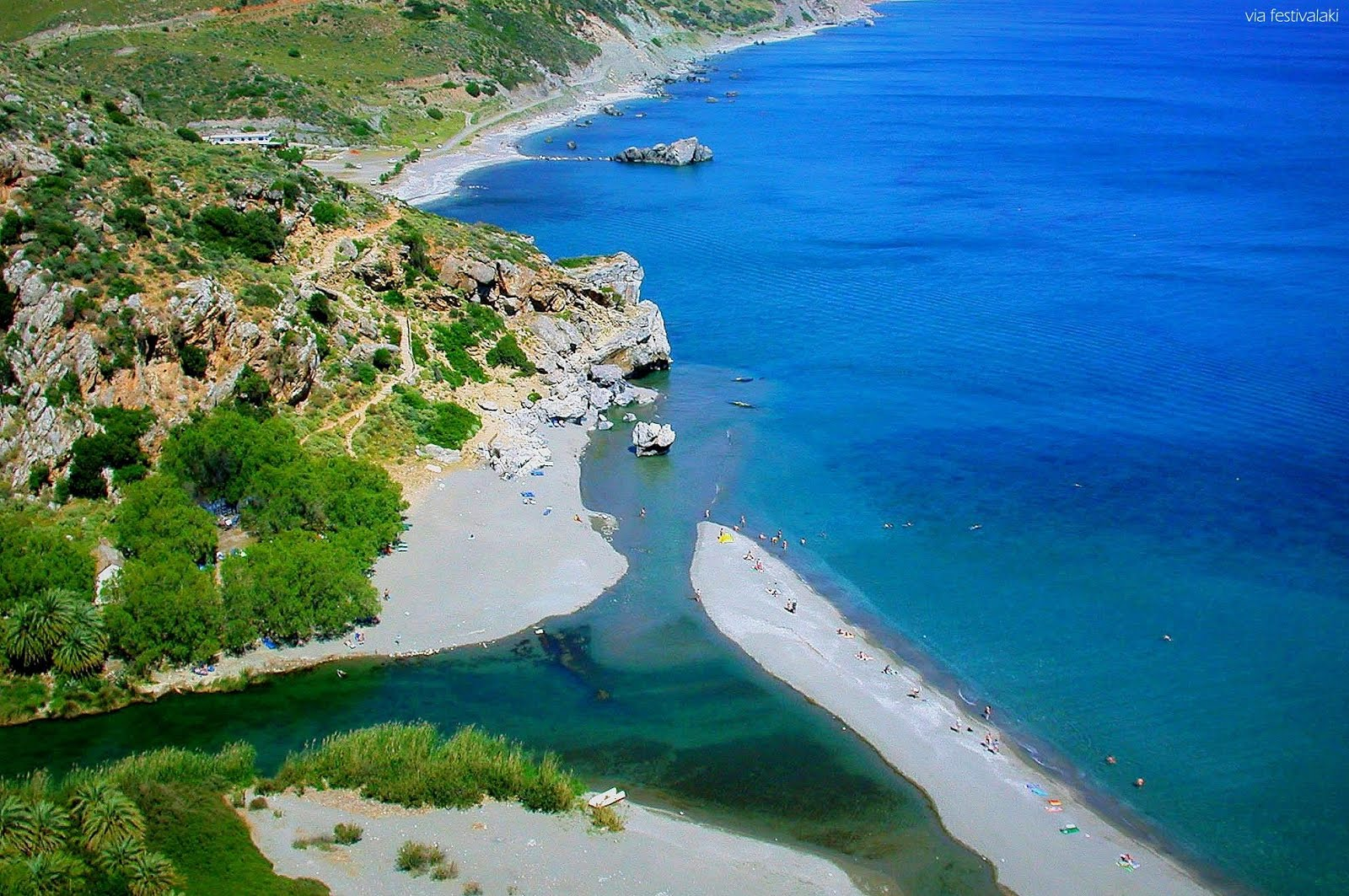 PREVELI BEACH GREECE