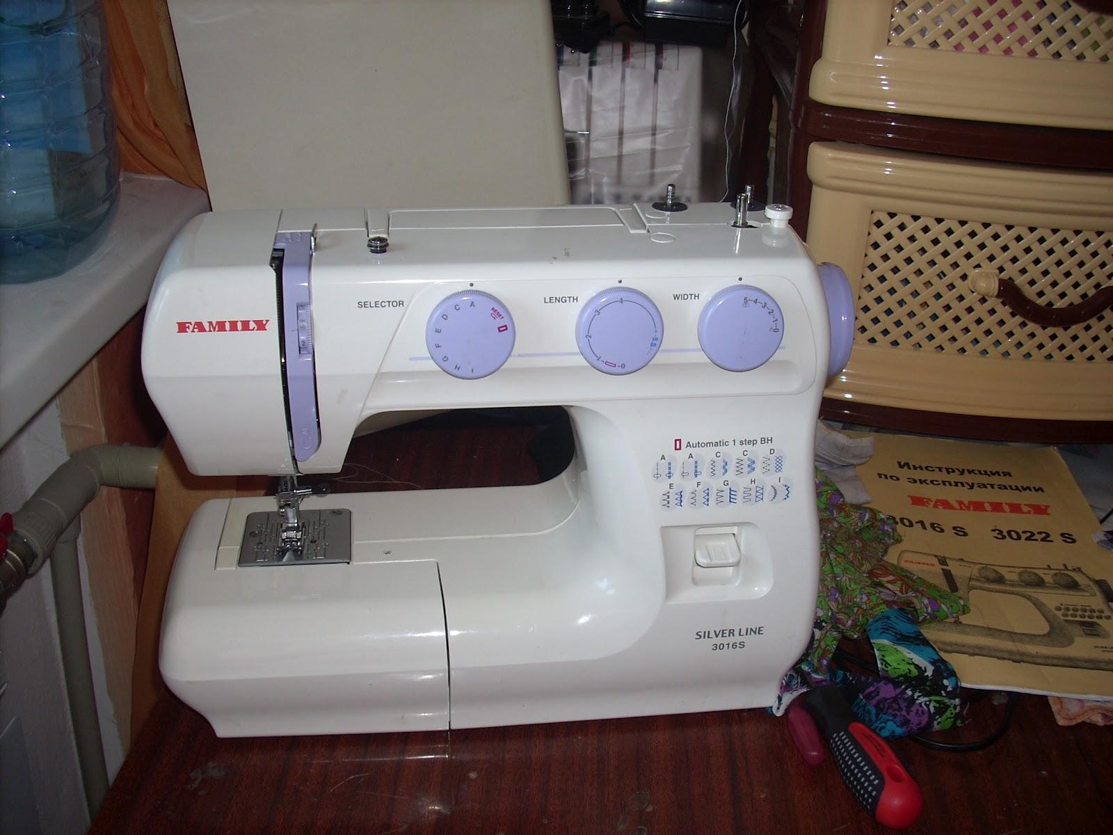 Почему швейная машина при шитье стучит