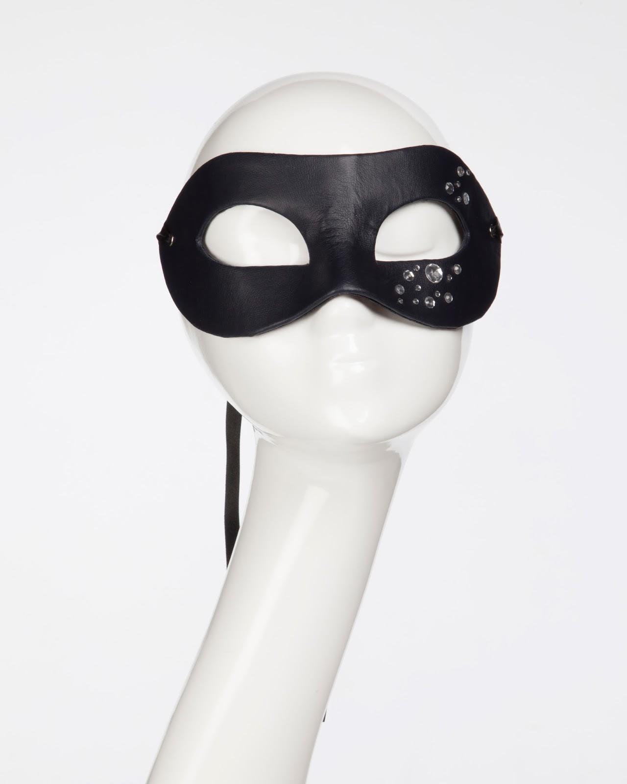 Mystic Magic, Mask, Masquerade, Fashion mask, Fashion, mens mask, photo, leather mask, fetish, costume, fancy dress, diamonds, designer,