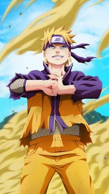 Naruto Fight Mode Mobile Wallpaper