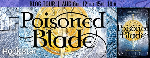 Poisoned Blade Tour + Giveaway thru 8/22