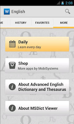 Advanced English Dictionary and Thesaurus v4.1.037
