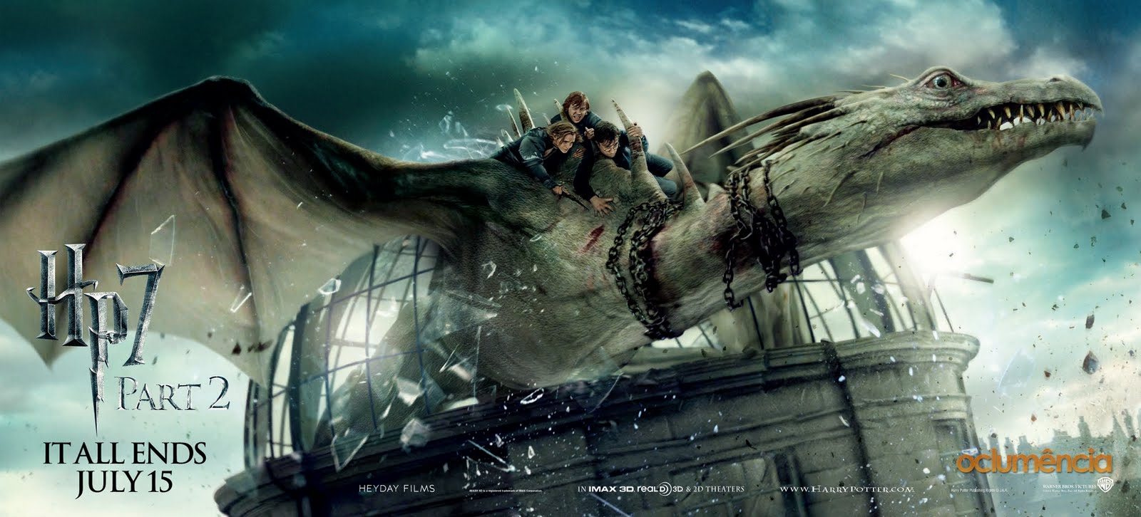 Dragon Harry Potter And The Deathly Hallows Part 2 Wallpaper