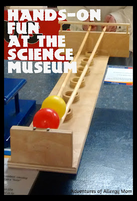 Hands on Fun at the science museum. Family fun with Toddlers.