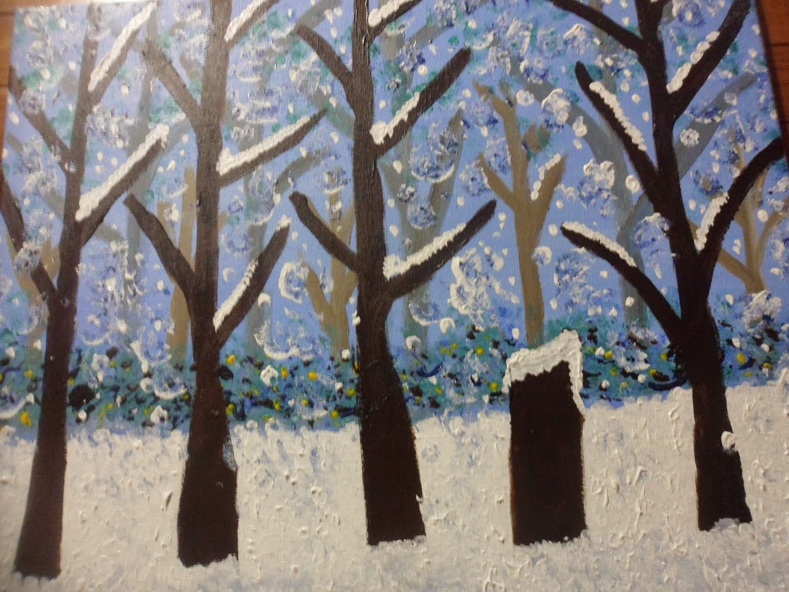 A Winter Scene by Malinda Miles