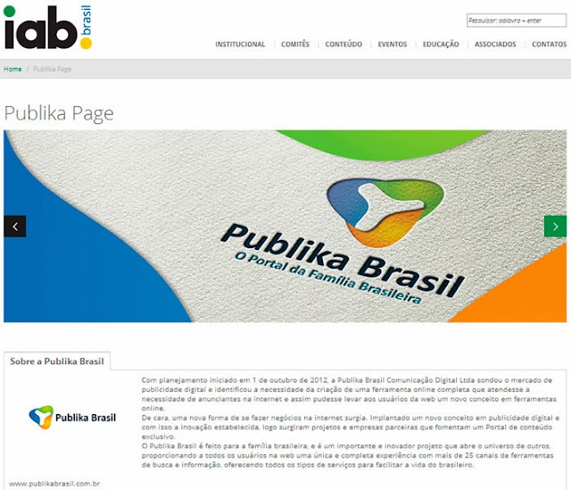 Outubro 2013 trabalhe e ganhe com marketing multinivel - Iab internet advertising bureau ...