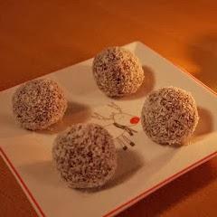 Kokosove kroglice za romantične