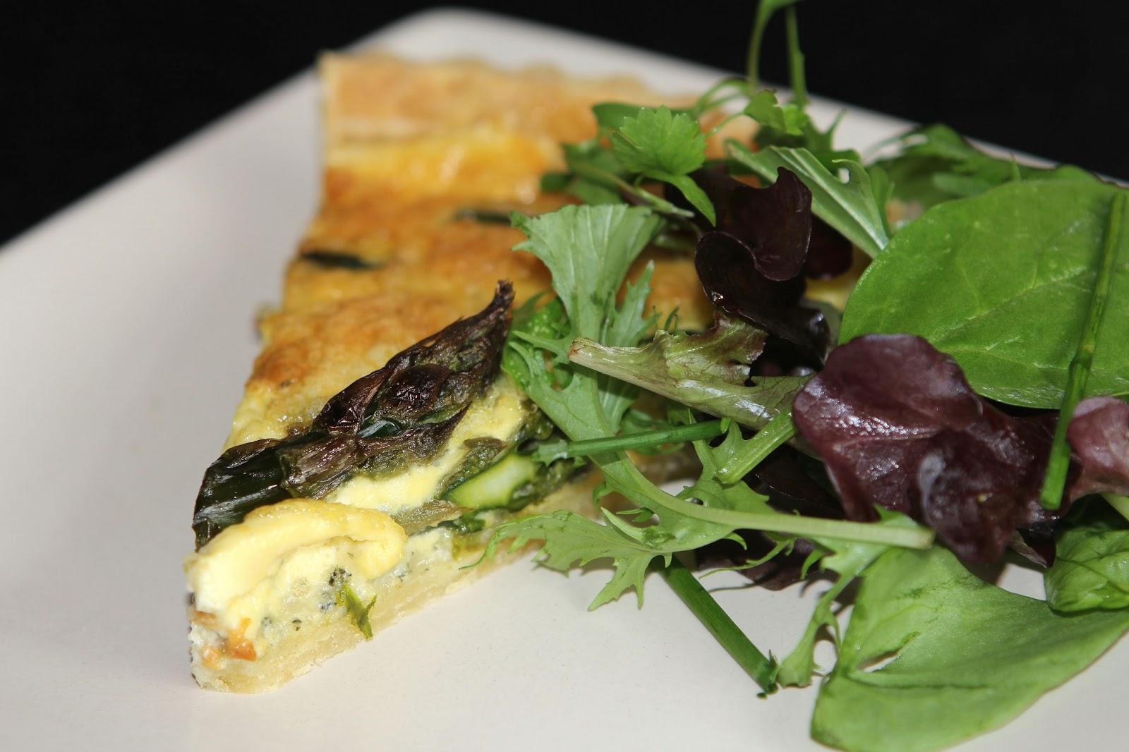 Gluten Free Alchemist: A Seasonal English Quiche - Asparagus & Stilton