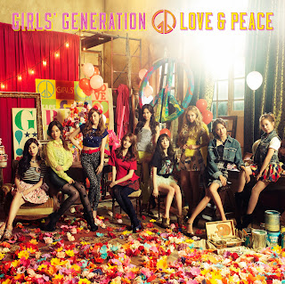Girls Generation Love Peace Cover