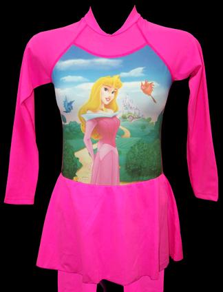 contoh model baju renang anak perempuan terbaru