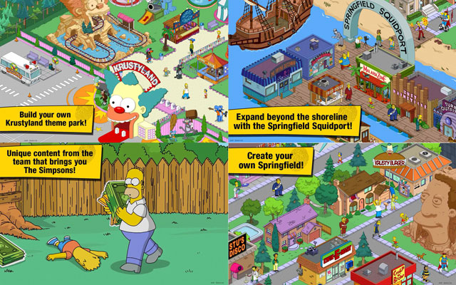 The Simpsons™: Tapped Out 4.9.2 screenshots
