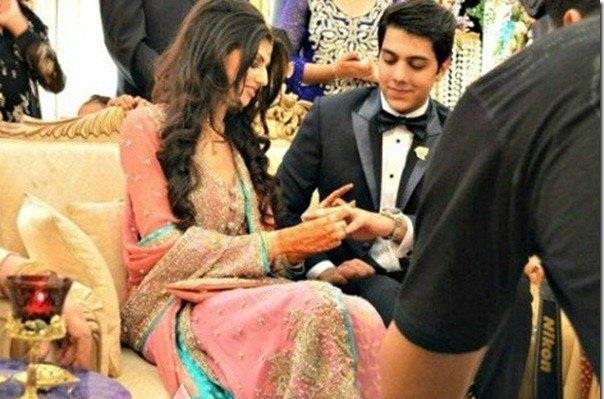 gohar mumtaz got engaged