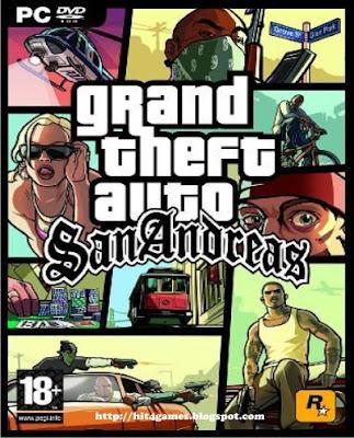 Game GTA SAN ANDREAS - PC GAMES