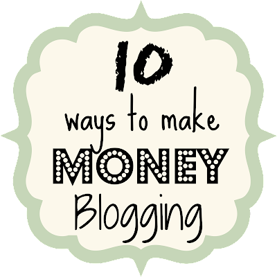 10 Ways to Make Money Blogging {rainonatinroof.com} #blog #blogging #tips #money #makemoney