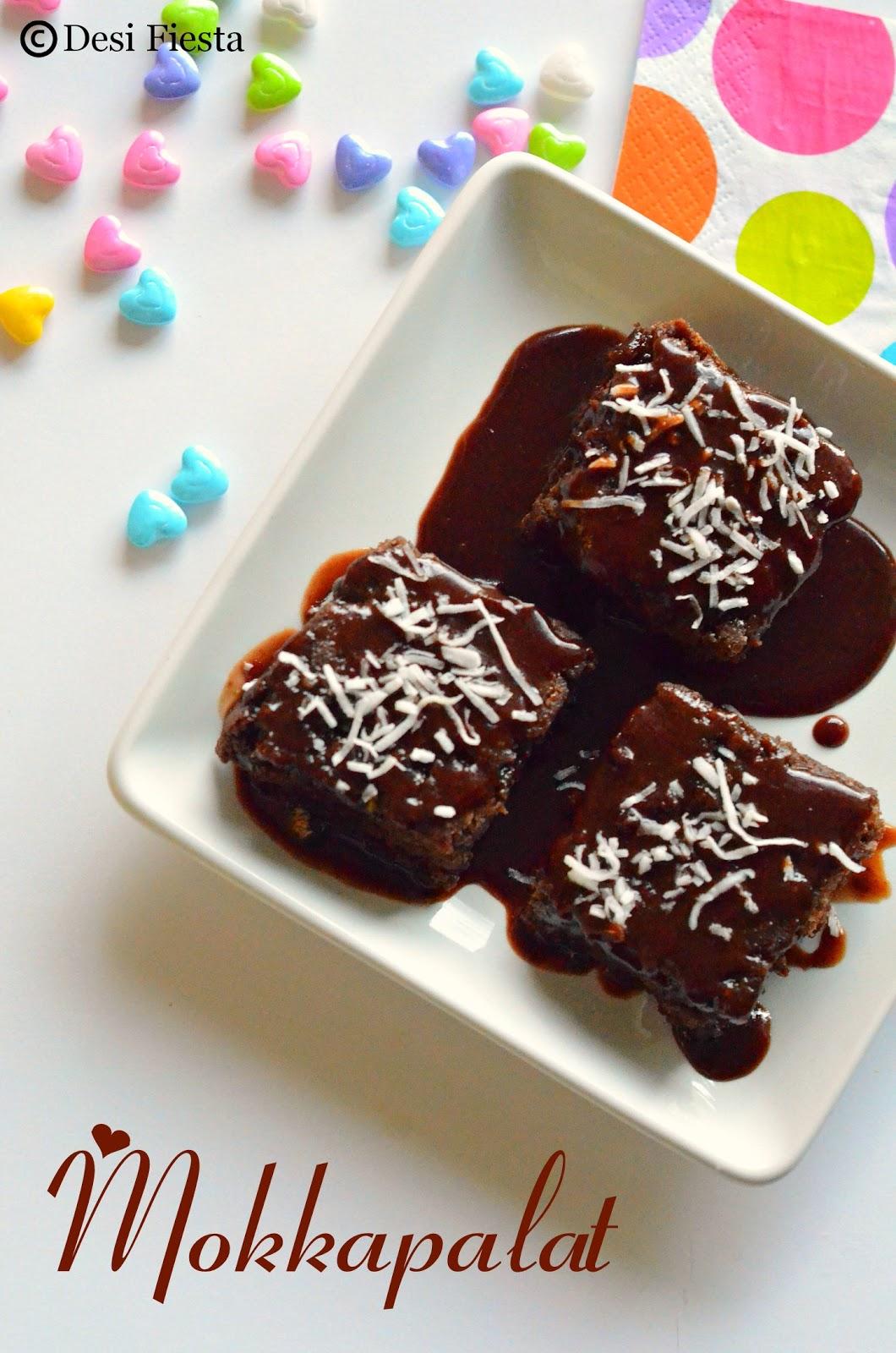 Chocolate brownie with chocolate icing
