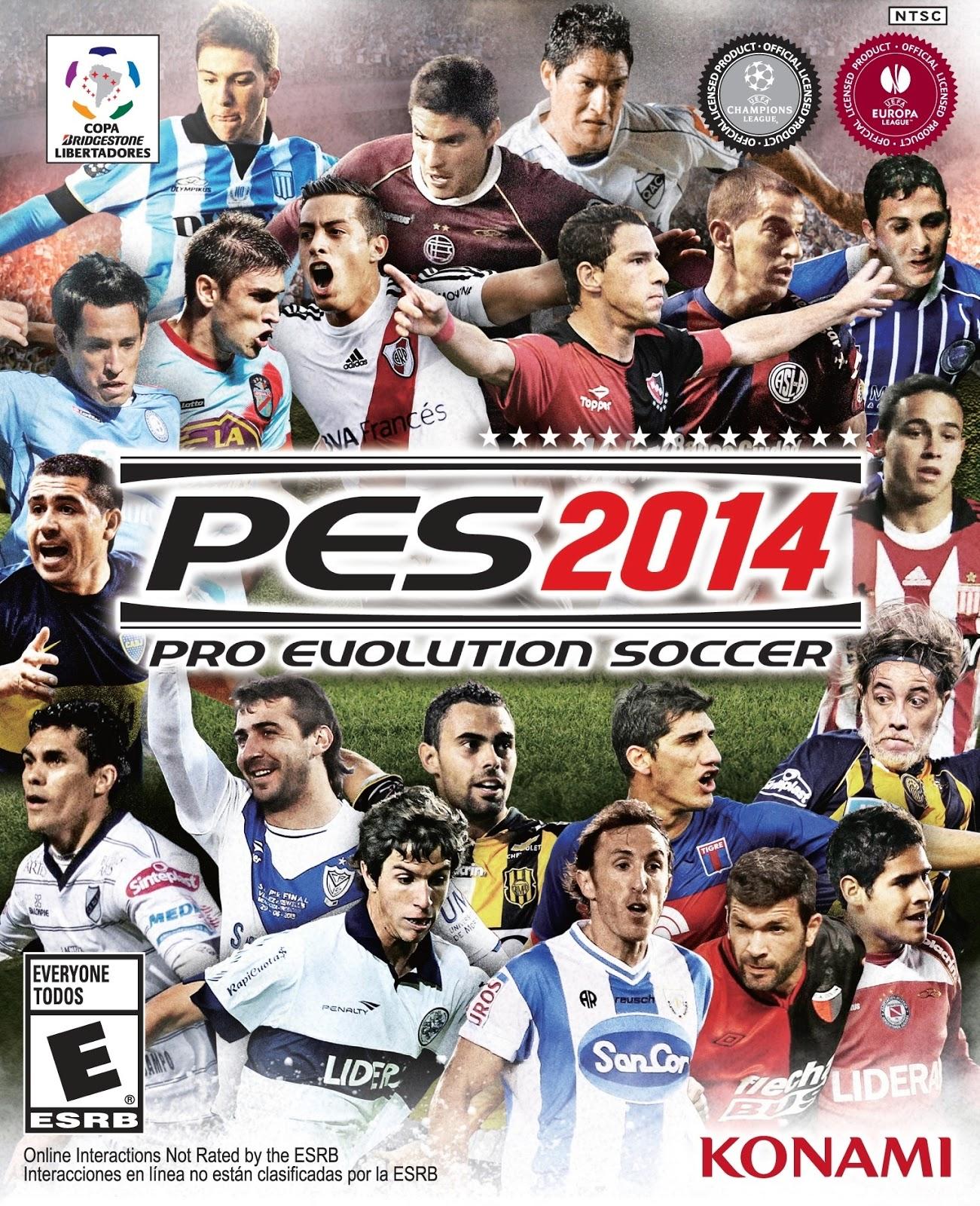 Pro Evolution Soccer 2014 Download Free