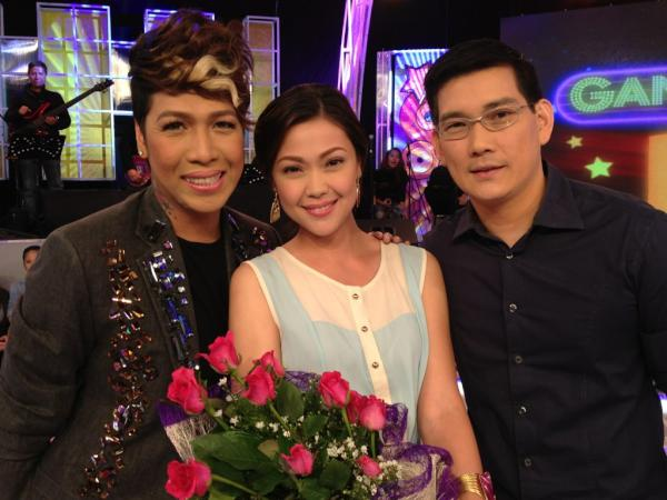 "Discover the funny side of Jodi and Richard as they banter with ""GGV"