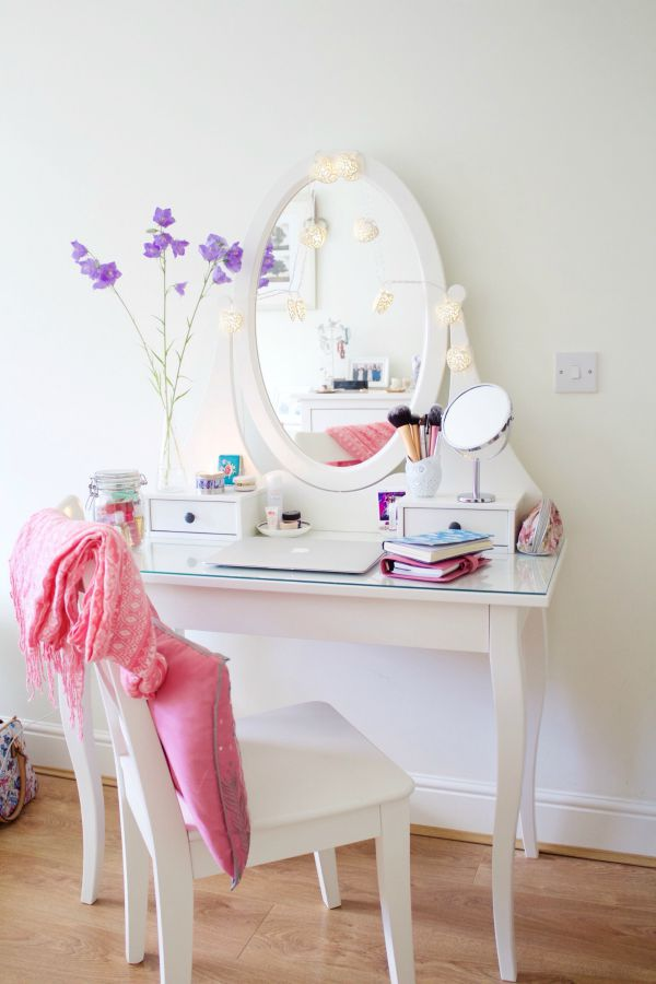 Dressing table details cliona hill for Ikea hemnes vanity table