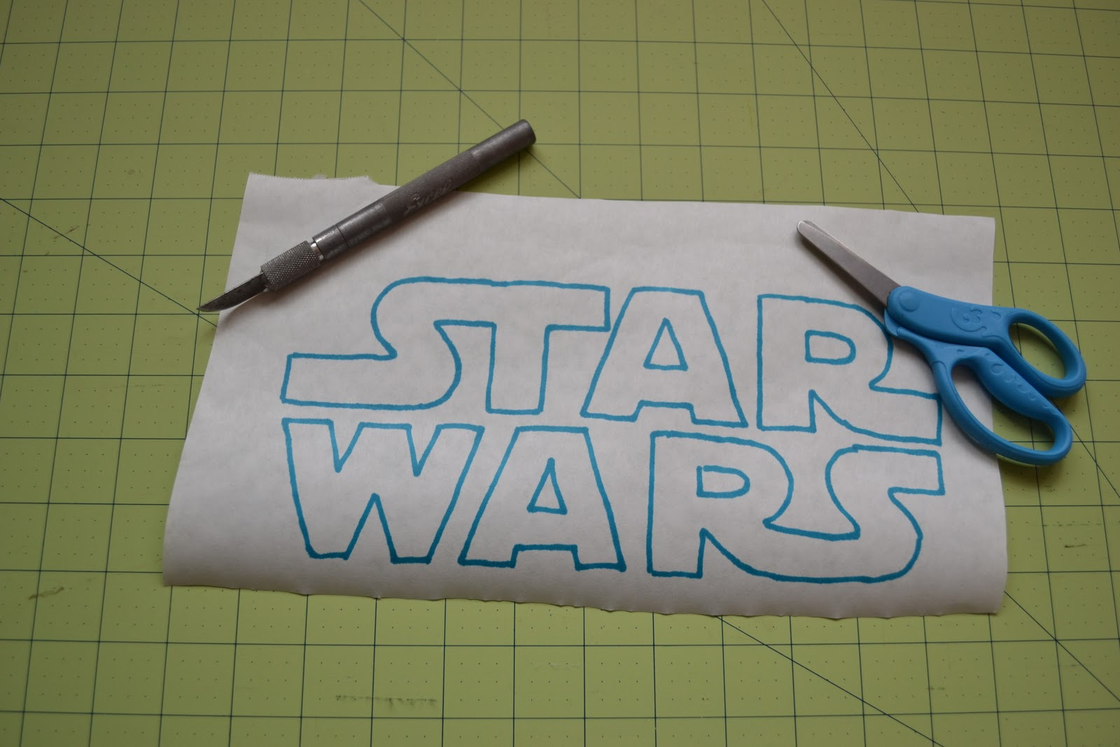 Displaying 19> Images For - Star Wars Logo Stencil...