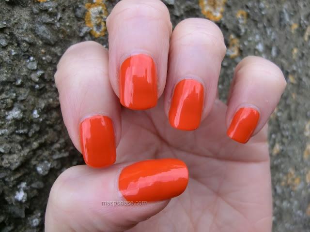 Essie Orange Its Obvious swatch