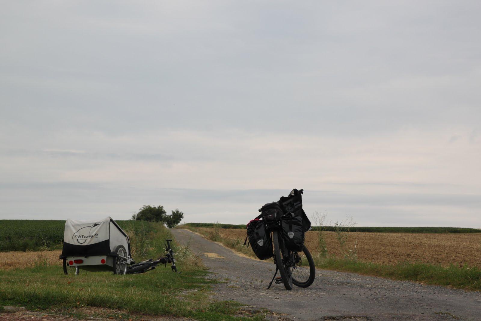 Rowerem przez wakacje