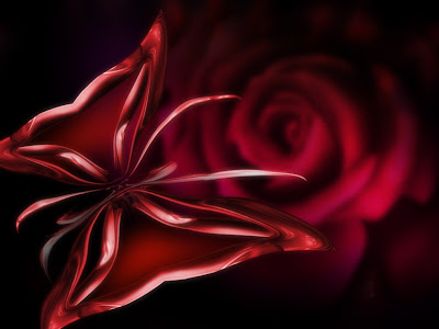 red-gothic-butterfly-rose-wallpaper