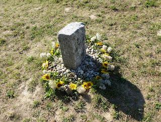 Mittelpunkt des Steinkreises auf dem Michaelsberg