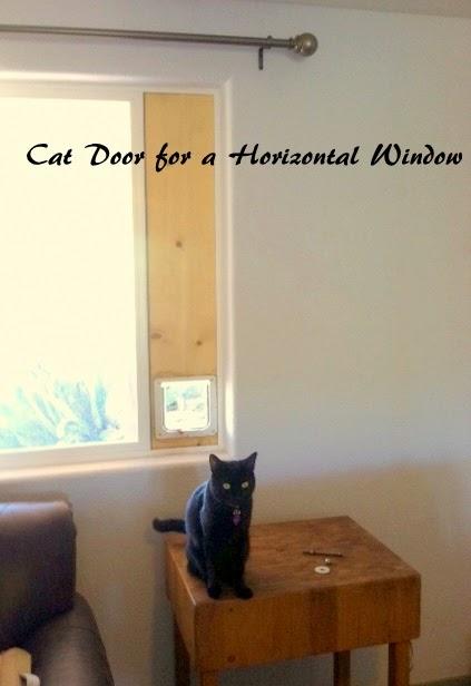 Down-to-Earth DIY: Cat Door (Horizontal Sliding Window)