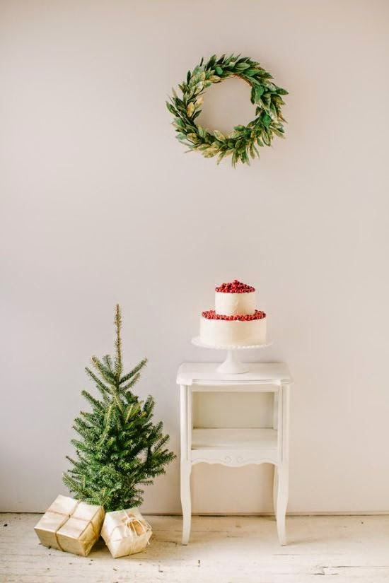 simple Christmas style