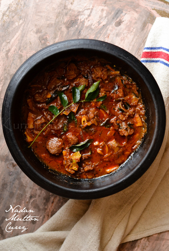 Nadan mutton curry kerala style mutton curry step by step recipe nadan mutton curry forumfinder Images