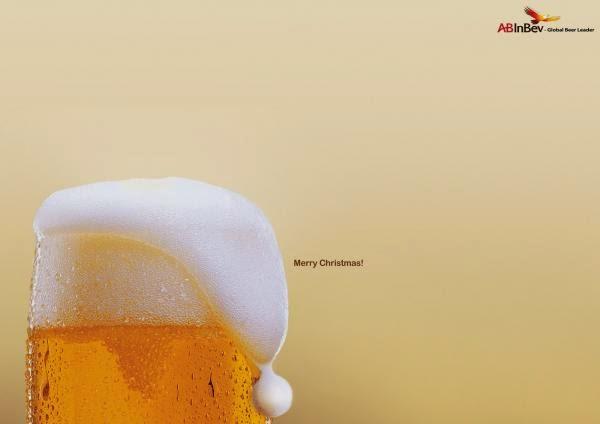 Publicidad creativa, navidad, ABInBev