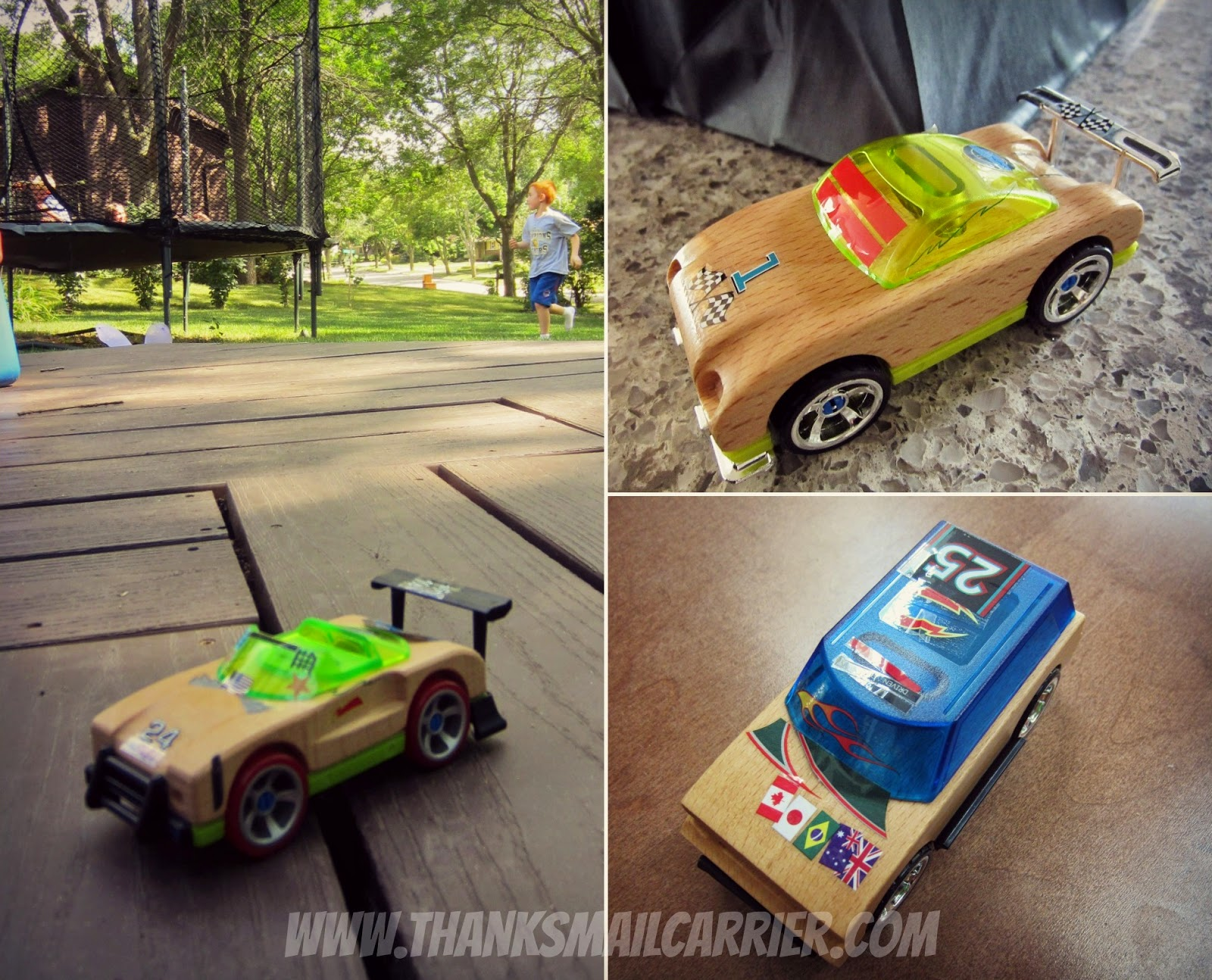 Motorworks wooden cars